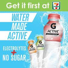 sugar free gatorade g active enriches