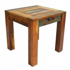 reclaimed timber boat wood lamp side table