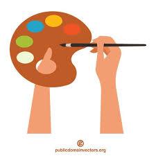 Paleta farb | Wektory w domenie publicznej