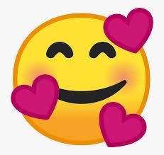 noto emoji pie 1f970 smiley face