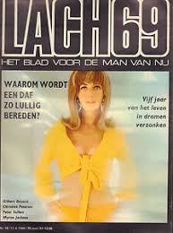 MAGAZINE DE LACH 1968 nr. 15 - GILBERT BECAUD/MYRNA JACKSON ...