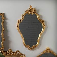 gold baroque mirror wayfair co uk