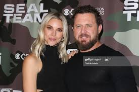 """Actor AJ Buckley and Abigail Ochse attend the screening of CBS' """"Seal...  News Photo - Getty Images"""