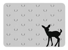 Deer Rug Fawn Nursery Deer Antler Decor Playroom Decor Child Be Wild