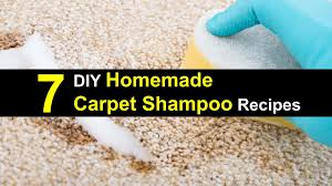 7 diy homemade carpet shoo recipes