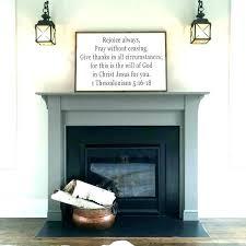 painting fireplace surround