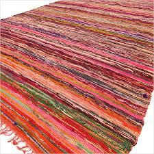 red orange rag rug best rug 2017