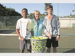 Teens reap rewards on tennis court - South Coast Sun