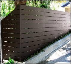 Contemporary Horizontal Vinyl Fencing Modern Fence Design Vinyl Fence Brick Fence