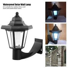 Led Wall Solar Lamp Outdoor Waterproof Garden Yard Light Shopee Philippines