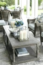 coffee table centerpiece decor wooden