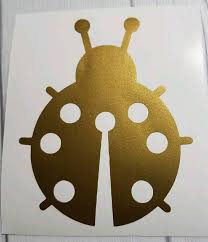 Sale Ladybug Vinyl Decals Di Cut Decal Home Computer Etsy