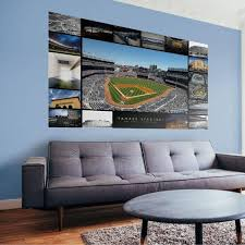 Fathead New York Yankees Then Now Stadium Mural Wall Decal Dick S Sporting Goods