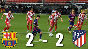 Barcelona vs Atletico Madrid [2-2], La Liga, 2020 - MATCH REVIEW ...