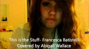 This is the Stuff- Abigail Wallace - YouTube
