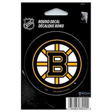 Bruins Round Vinyl Decal Boston Pro Shop