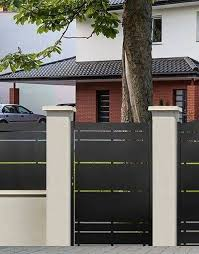 10 Beyond Words Modern Fence Door Ideas 4 Irresistible Tips Front Yard Fence Height Los Angeles Fence Ideas In 2020 Fence Doors Modern Fence Design Modern Fence