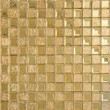 gold mirror glass tile crystal tile