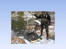 remove lake and pond muck and weeds diy