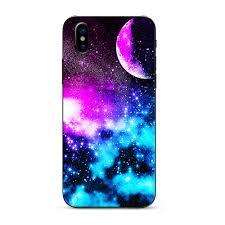Skin For Iphone X Skins Decal Vinyl Wrap Stickers Cover Galaxy Fluorescent Walmart Com Walmart Com