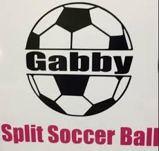 Personalized Soccer Ball Decal For Waterbottle Or Car