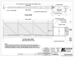 Fences And Gates Exterior Improvements Download Free Cad Drawings Autocad Blocks And Cad Details Arcat