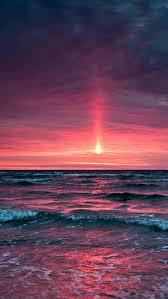 fantasy ocean sunset landscape iphone