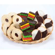 gift baskets sympathy cookie platter