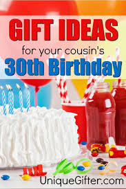 20 gift ideas for your cousin s 30th