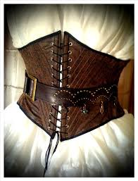 pirate wench faux tooled leather