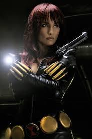Tatiana DeKhtyar (USA) as Black Widow. Photos by: Aaron Schoenke ...
