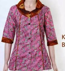 Jual new model baju atasan ibu hamil menyusui maria kota. 70 Model Baju Batik Atasan Wanita Terbaru 2019 Semua Ukuran