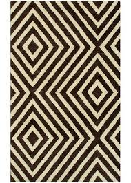geometric design zuel rug black