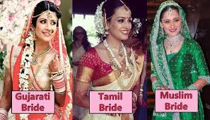 indian bridal look defined as per