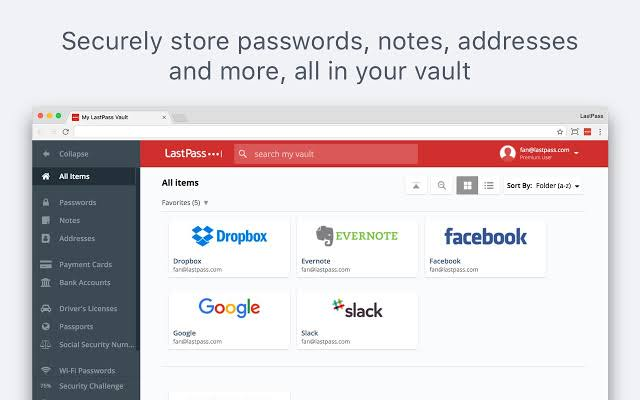 Image result for password manager lastpass""