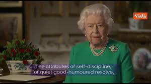 Il discorso della Regina Elisabetta agli inglesi - YouTube