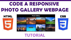 responsive photo gallery in html css