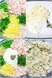 Imitation Crab Salad with Shrimp Recipe ...