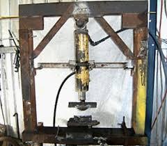 homemade hydraulic press member