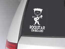 Rockstar On Board Car Decal Uk Seller On Luulla