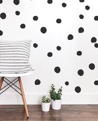 Large Hand Drawn Dot Wall Decals The Lovely Wall Company