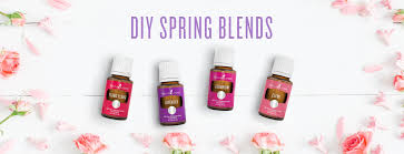 diy essential oil spring blends young