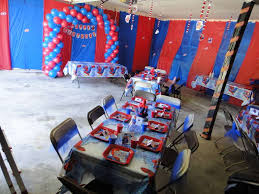 spiderman birthday party ideas photo