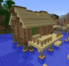 Corsair Water House Blueprints For Minecraft Houses Castles Towers And More Grabcraft