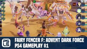 Fairy Fencer F Advent Dark Force Ps4 Gameplay 1 Youtube
