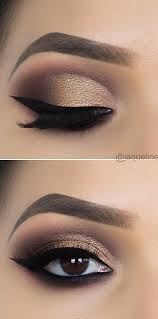 chic and glamour eye makeup looks ideas
