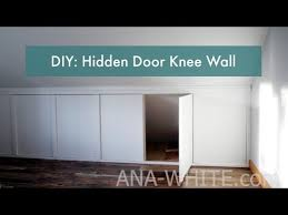 knee walls with doors you