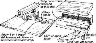 Stop For A Radial Arm Saw Fence Finewoodworking