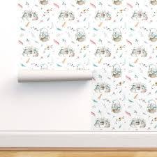 watercolor bunnies nursery design 2