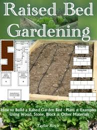 how to build a raised garden bed plans